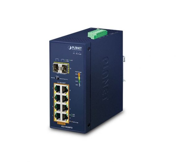 Industrial PoE Switch Planet IGS-1020PTF